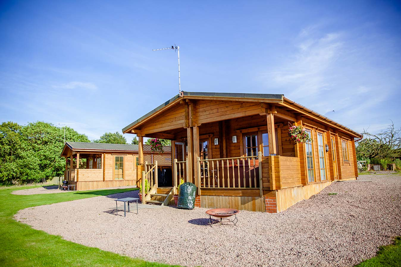 Refurbishment of forest view retreat underway for Log cabin retreat