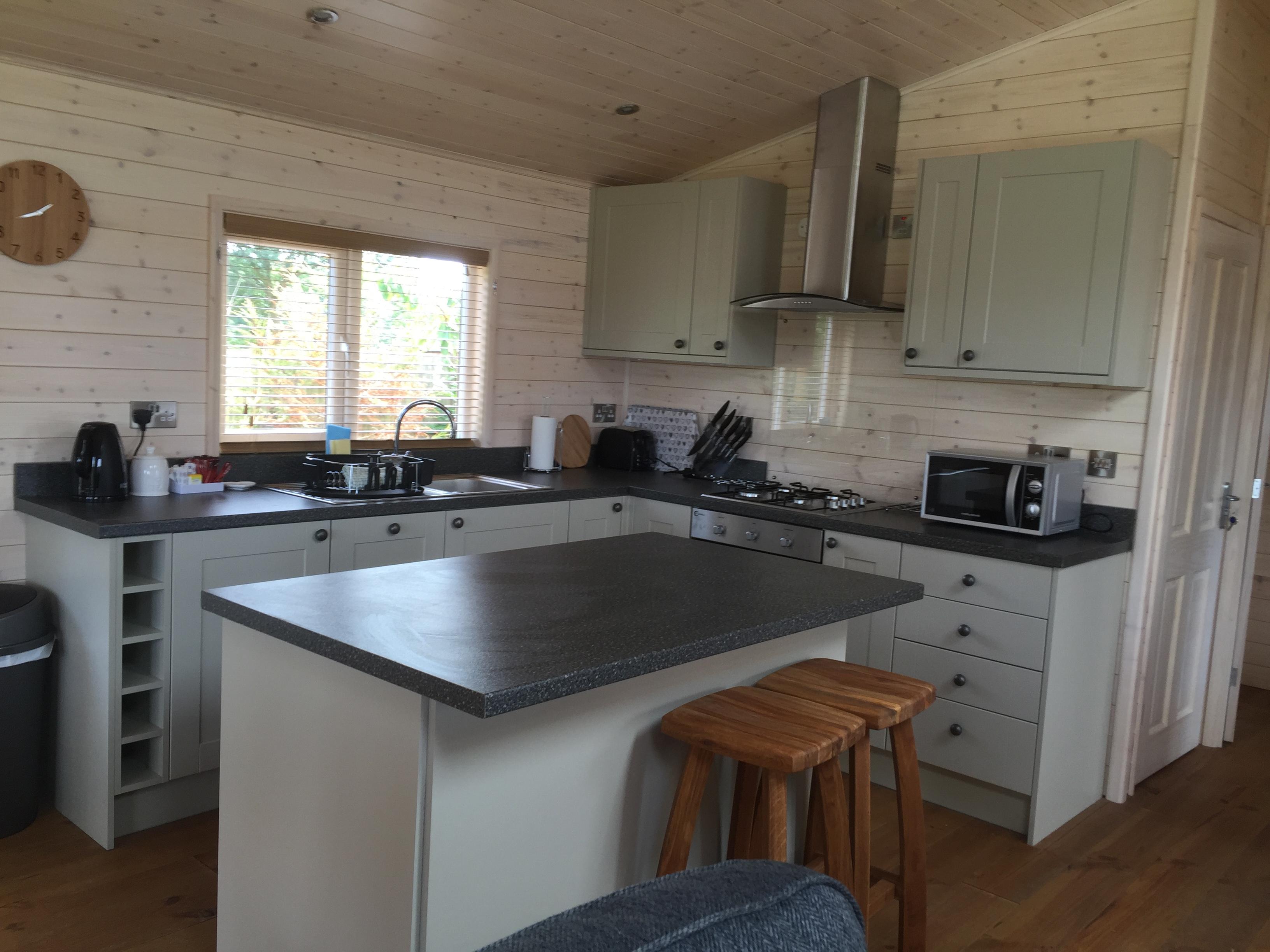 Kitchen in Fern Lodge